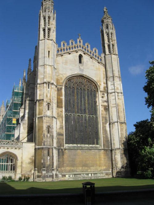 As I was leaving Cambridge I had to take a picture of Kings College Chapel