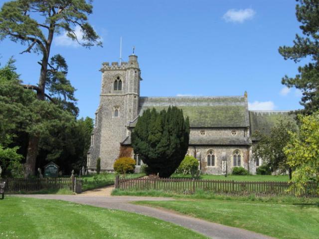 Arkeden parish church