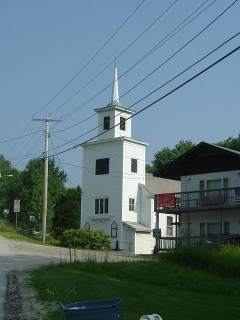 Thank God the Killington Church. Maybe it could save my soul, but seeing it I knew that my legs would be saved!