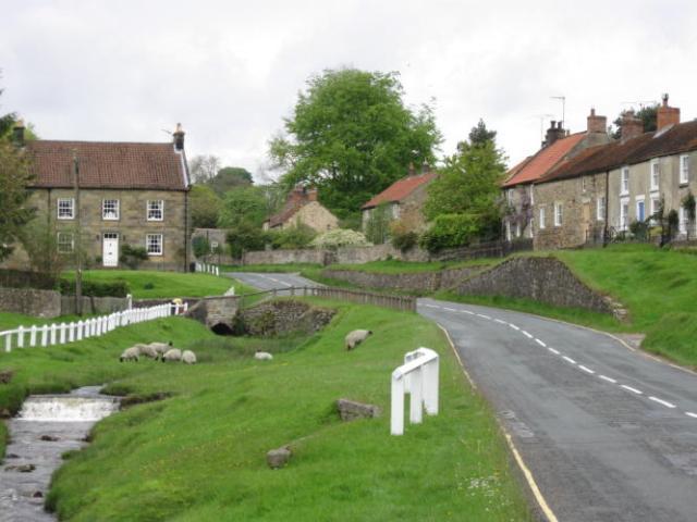 Entering Hutton-le-Hole