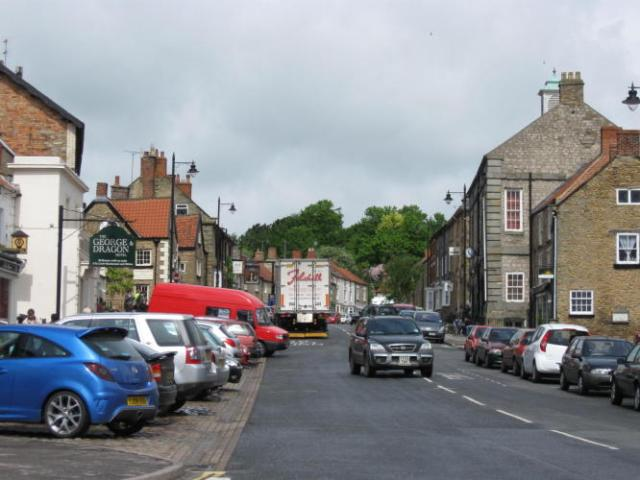 Kirbymoorside high street
