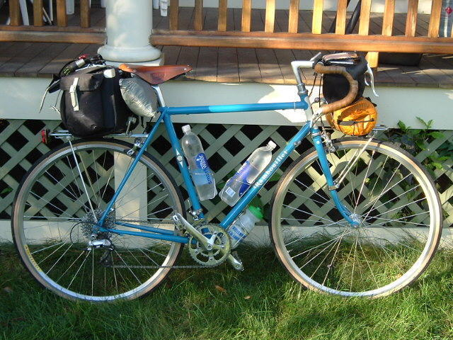 Rivendell Rambouillet set up for long distance touring